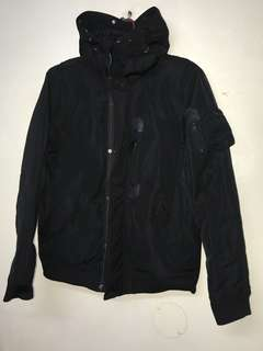 Trench hoodie Bomber jacket medium size