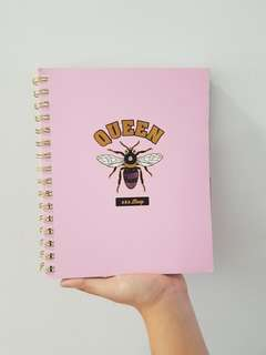 Queen Bee Typo Notebook