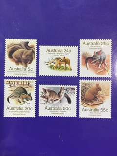 1981 Australia Mint Stamp Set