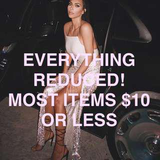 Most things $10!!