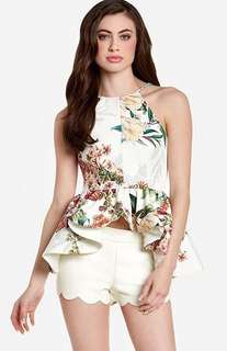 Cameo Botanical Wind Top Size S RRP $79