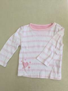 Mothercare heart top
