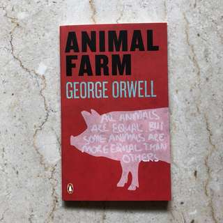 Brand New Animal Farm by George Orwell