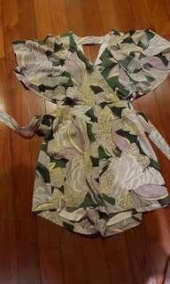 Love Bonito kimono playsuit