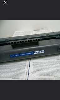 C4092A cartridge for HP1100 printer 全新一個送已開一個(已開但仍有90%)