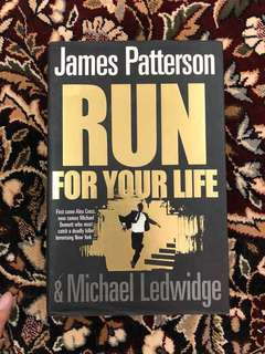 [Hardcover] Run For Your Life by James Patterson & Michael Ledwidge