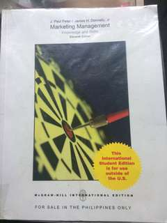Marketing Management by J. Paul Peter and James Donnelly