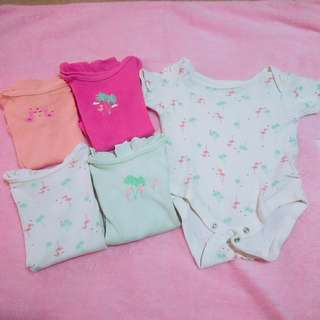 Mothercare Baby Girl Onesies