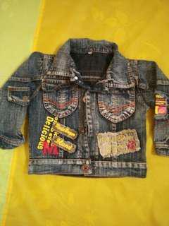 Jaket jeans vintage keren