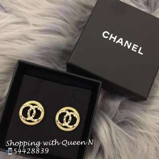 Chanel Earring Chanel 金色圓形耳環