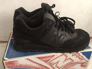 Rare Item NB ML574CHD Black/Black