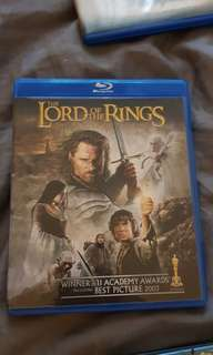 Lord of the Rings Return of the King Blu-ray