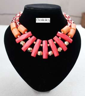 Rash any statement necklace