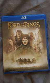 Lord of the Rings Fellowship of the Ring Blu-ray