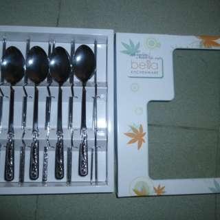韓式筷子和匙 5 对 (韓國製造) ---