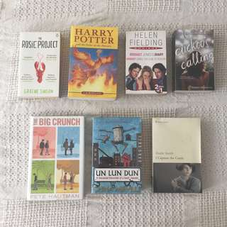 Rm30 for 2 books with free post