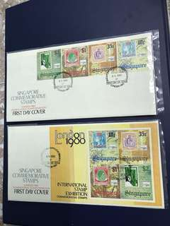 Singapore FDC as in Pictures ( 2 pieces)