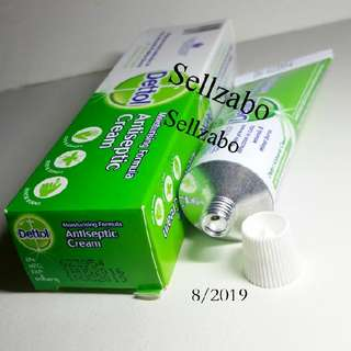 Antiseptic Cream Dettol Moisturising Moisturizing Sellzabo Detol Skin