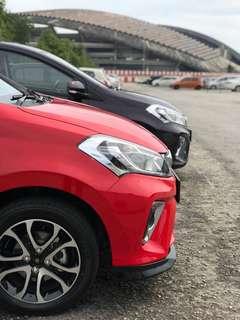 Perodua myvi baru murah full loan