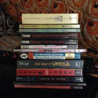 (SALE!) ALL BOOKS FOR 1,300