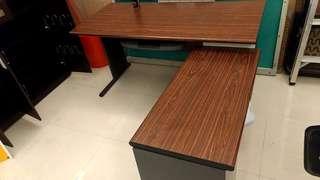 超低價再降價全新出清大L型辦公桌電腦桌