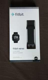 BNIB Fitbit Versa Classic Band Black Size Small