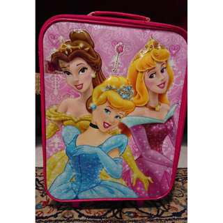 Must Go! Princess Travel Trolley Bag for Kids