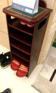 超低價再降價出清六層小鞋櫃