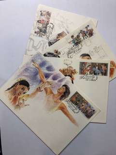 Clearing Stocks: Singapore 1994 Festival of Arts Set of 4 Maximum Cards