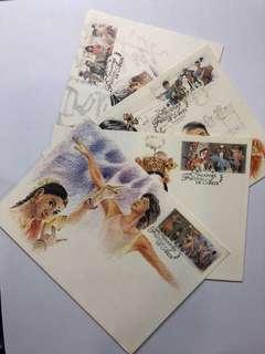 Clearing Stocks: Singapore 1994 Festival of Arts Set of 4 Maximum Cards