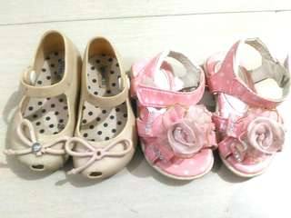 Bundle baby girl shoes/sandals