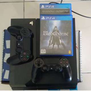 PS4 PHAT WITH 2DS4 2 GAMES