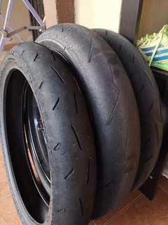 Dunlop kr410 tyre 100/70