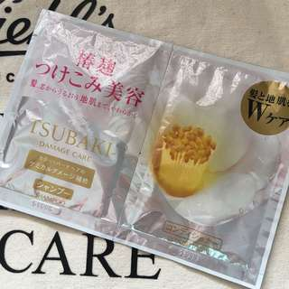 #blessing for free 📬Tsubaki shampoo and conditioner damage care