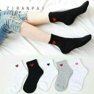 mid-high korean socks