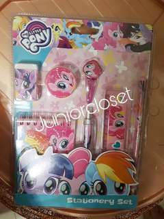 [Juniorcloset] 🆕 Authentic 7pcs My little pony stationery set