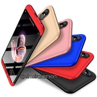 Combo Full Body Hard Matte Shockproof Case Xiaomi