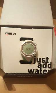 Mares diving computer watch White/Lime 潛水錶