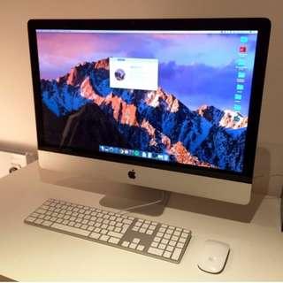 "頂級iMac i7 1TB SSD(Retina 5K, 27"", Late 2015 Model)"