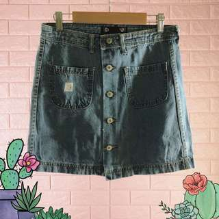 Denim Skirt 28in-04