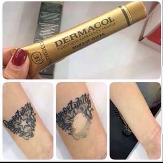 Dermacol Make Up Cover tattoo scars concealer full coverage