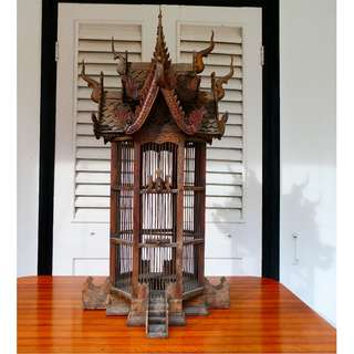 Ornamental Thai Bird Cage