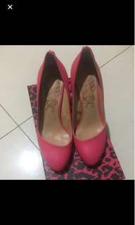 Linea rosa鞋