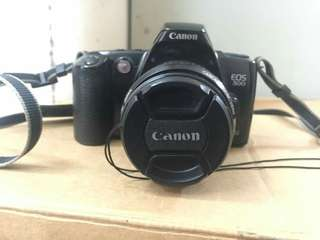 Canon EOS 500 35mm SLR Film