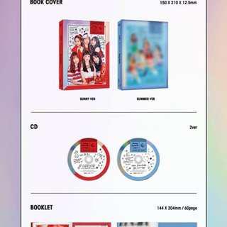 Gfriend Summer Mini Album [Sunny Summer] Pre-order (Sealed Album)
