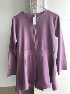 Preloved Katya Blouse by Vanilla Hijab
