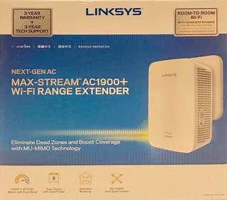 LINKSYS RE7000 MAX-STREAM™ AC1900+ WI-FI RANGE EXTENDER