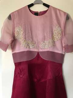 Preloved Gown 3