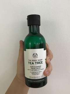 [REPRICE] The Body Shop Tea Tree Facial Wash
