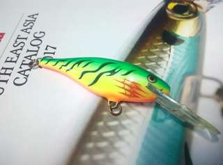 Rapala Shadrap8 Bleeding Fire Tiger